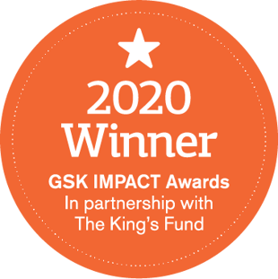 GSK 2020 IMPACT Award Winner