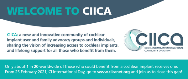 Cochlear Implant International Community of Action Launches