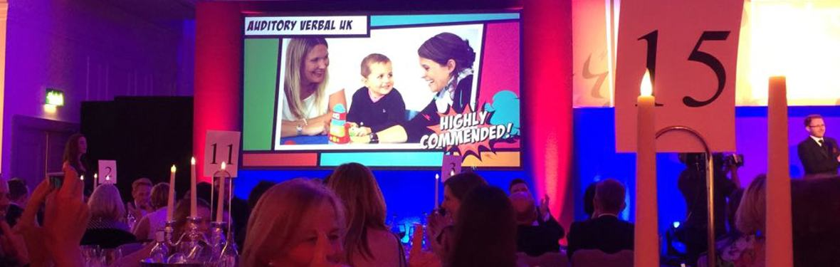 Highly Commended Charity of the Year!