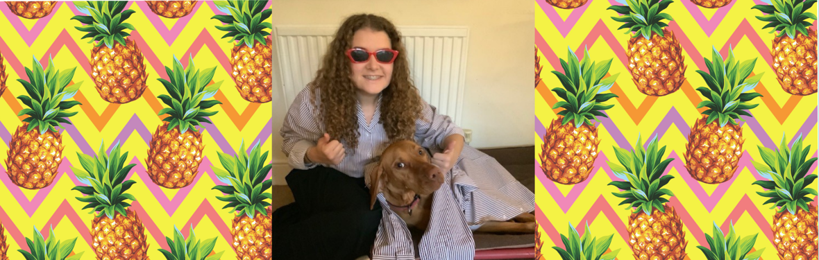 Young Ambassador joins her pet dog to launch Countdown to 2020 Loud Shirt Day