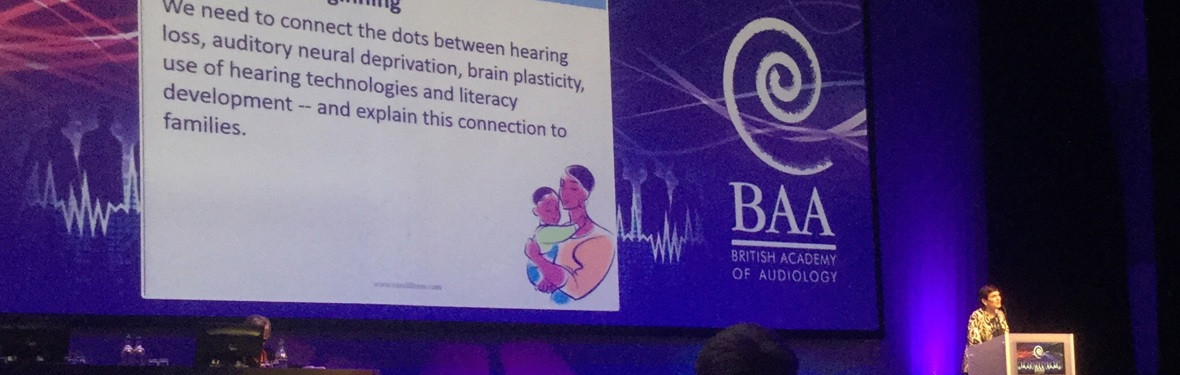 AVUK research featured at British Academy of Audiology annual conference
