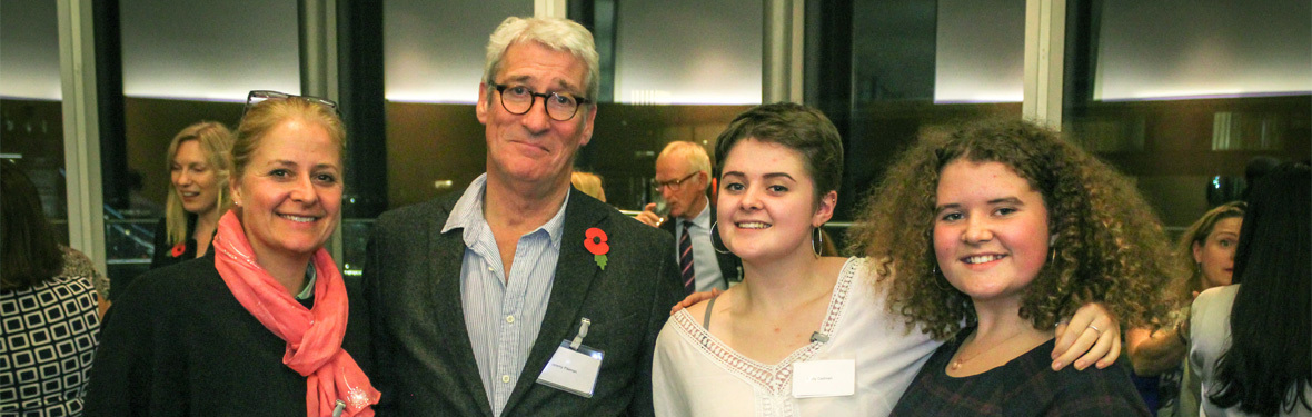 What happened when an AVUK young ambassador interviewed Jeremy Paxman
