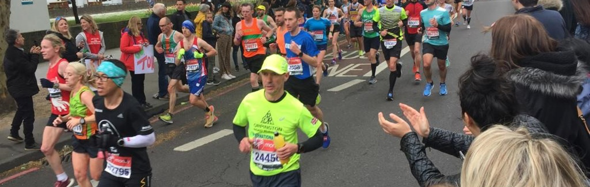 A BIG thank you to our London Marathon runners and supporters