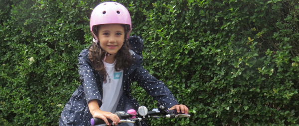Mia's Fundraising Birthday Bike Ride
